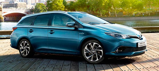 Toyota Auris Touring Sports y Auris hybrid Touring Sports