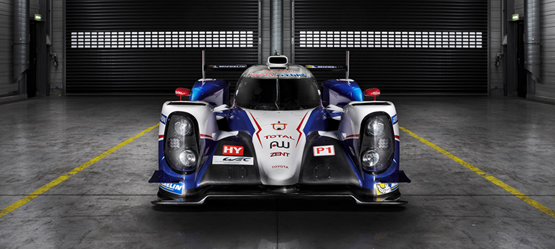 Toyota Racing TS040 Hybrid Launch