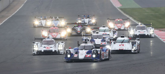 The Perfect Start for Toyota Racing