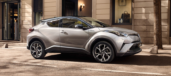 Toyota introduces game changing Toyota C-HR