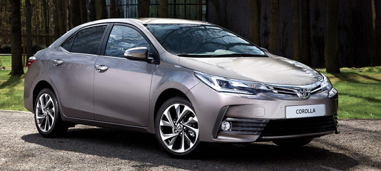 Drive a 172 Corolla from €214 per month*