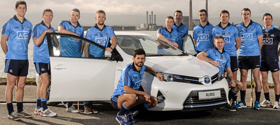 Toyota Announces Three Year Partnership with Dublin GAA