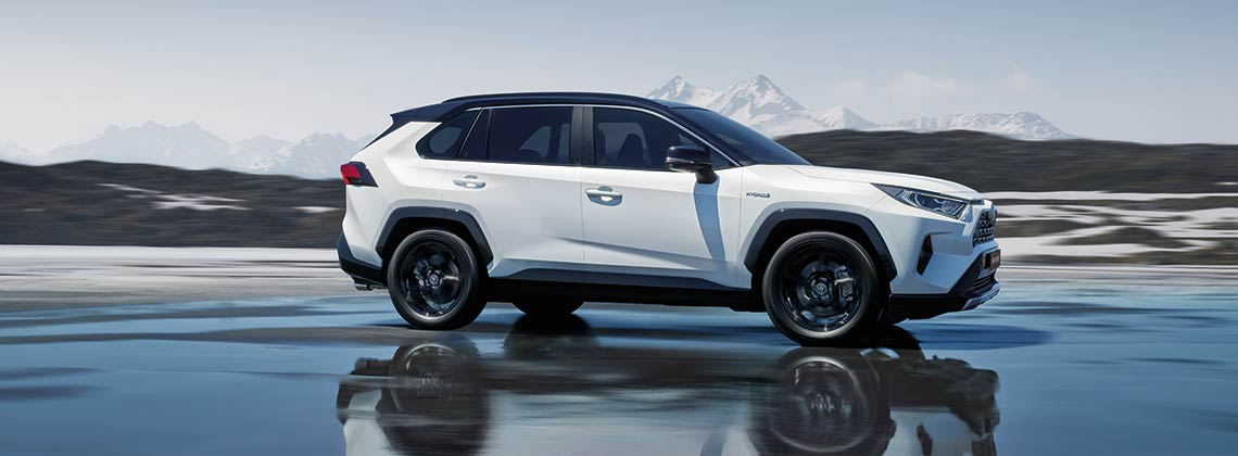 The All New 2019 Toyota Rav4 Self Charging Hybrid Toyota Ireland