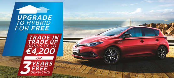 Drive a 181 Auris from €22,995* or €188 per month**