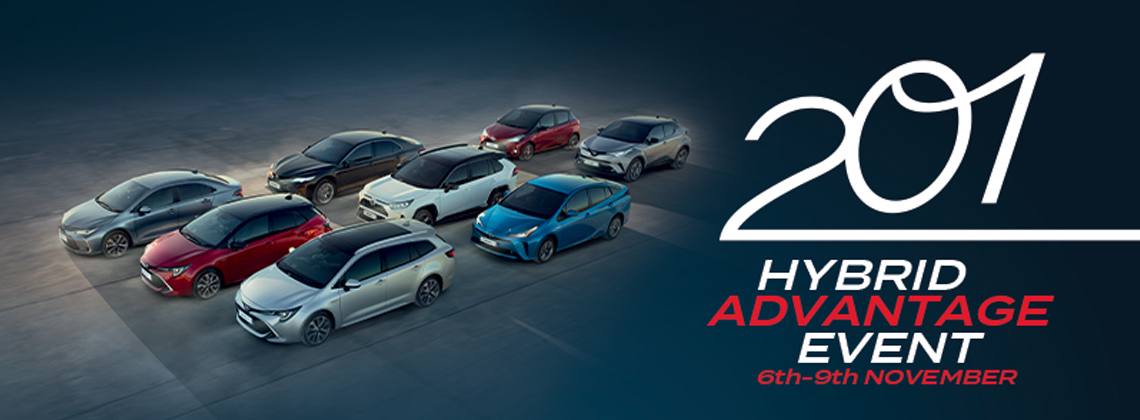 Toyota announces Hybrid Advantage event and  offers incentives for going hybrid in 2020