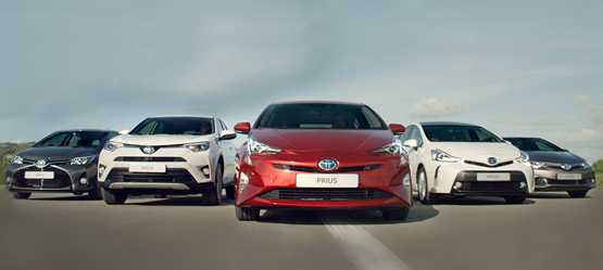Toyota Ireland announce 128% sales increase for Hybrid vehicles in 2017