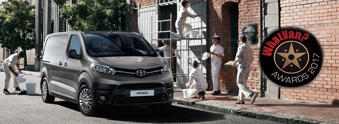 The Award Winning Toyota Proace Range Offers Unmissable Value