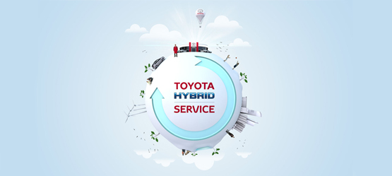 This July, get a Free Wash & Vac with a Toyota Hybrid Health Check