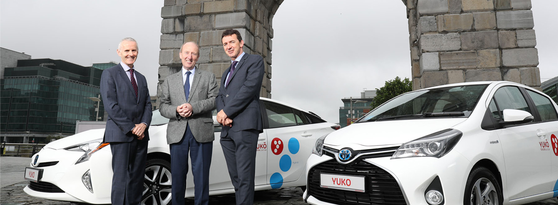 Toyota Ireland Launches Car Sharing Initiative 'YUKO Car Club'