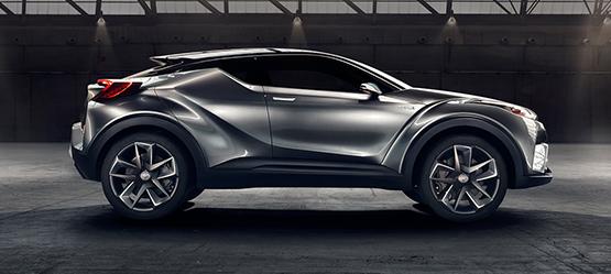 Toyota Polska :: C-HR Concept – światowa premiera pojazdu