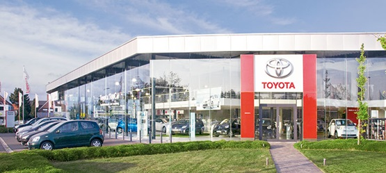 Toyota BusinessPlus Centers – Garage Lievens NV