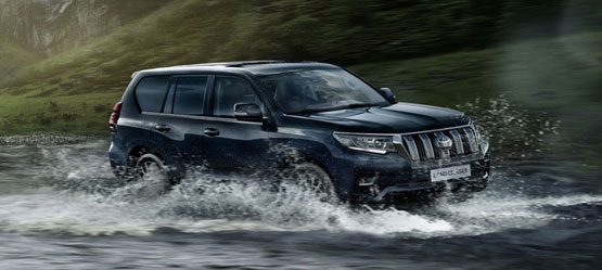 New Toyota Land Cruiser - Born an icon. Forever unstoppable
