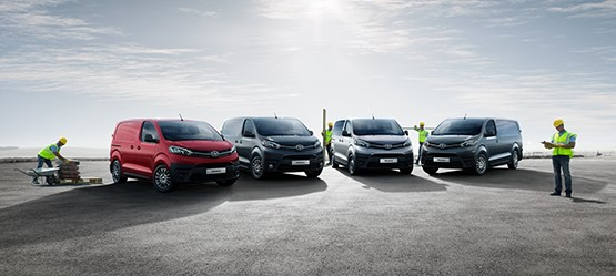 Toyota Proace ist KEP-Transporter des Jahres 2017