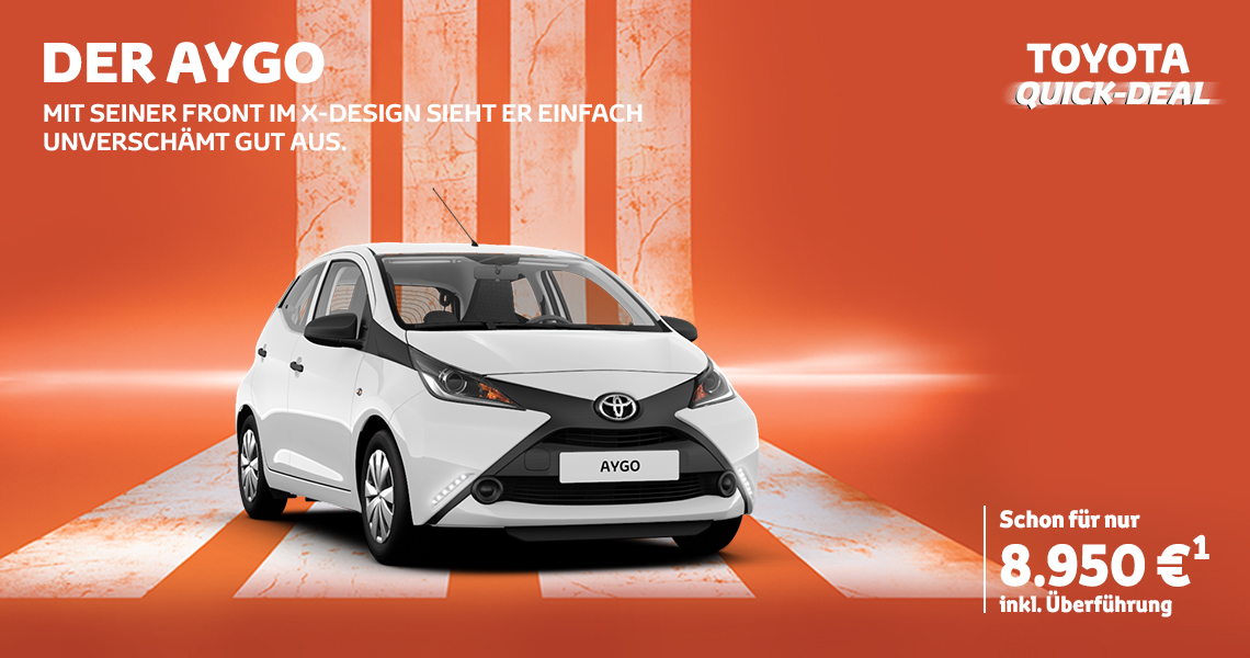 Toyota Quick-Deal: Der AYGO
