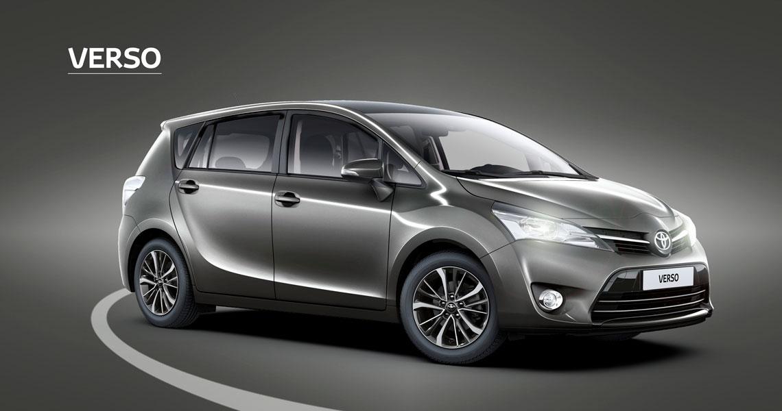 Toyota Verso med 7 sæder til den store familie