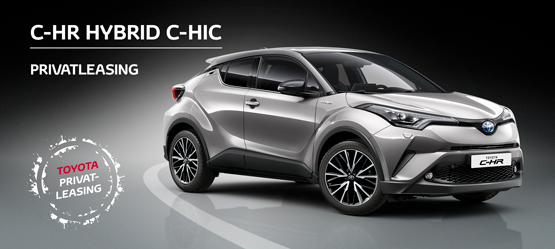 Toyota C-HR hybrid C-HIC privatleasing