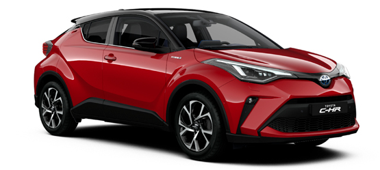Toyota Online privatleasing