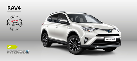RAV4 2.5 Hybrid 4x2 H3 - Privatleasing