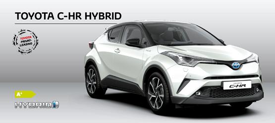 Privatleasing af Toyota C-HR Hybrid Premium Selected