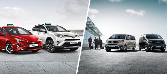 Toyota Taxi Hybrid - til din virksomhed