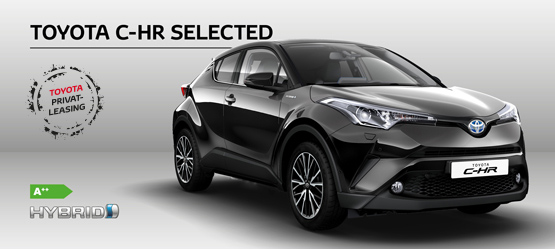 Toyota C-HR Hybrid Selected - Privatleasing