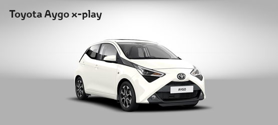 "<strong>Toyota AYGO 70 X-PLAY + TSS + SKY por <span style=""color: #e50000; font-size: 2.4rem;line-height: 2.4rem;"">105€</span> al mes</strong>"