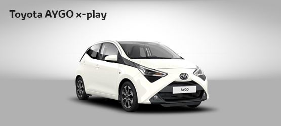 "<strong>Toyota AYGO 70 X-PLAY + TSS por <span style=""color: #e50000; font-size: 2.4rem;line-height: 2.4rem;"">99€</span> al mes</strong>"
