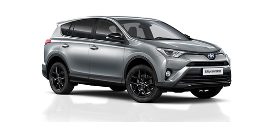 Coche familiar RAV4 híbrido