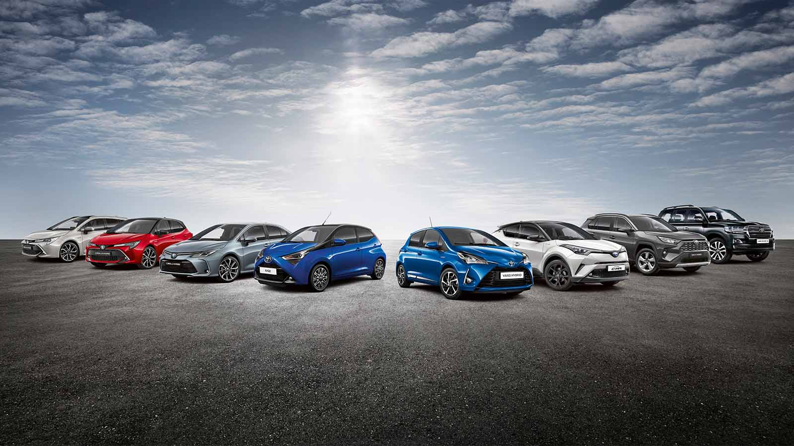 Toyota Company Latest Models >> Toyota Businessplus Our Range Toyota Motor Europe