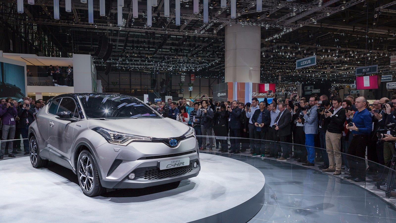 Toyota At Geneva Motor Show 2016