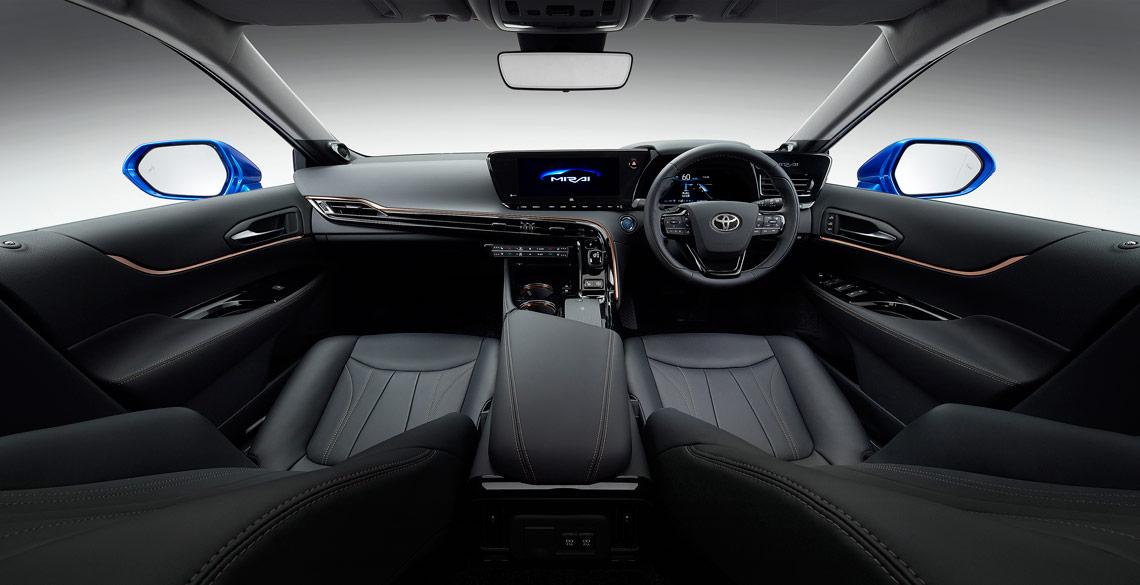 Second Generation Toyota Mirai Still Zero Emissions
