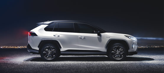 World debut of the all-new Toyota RAV4