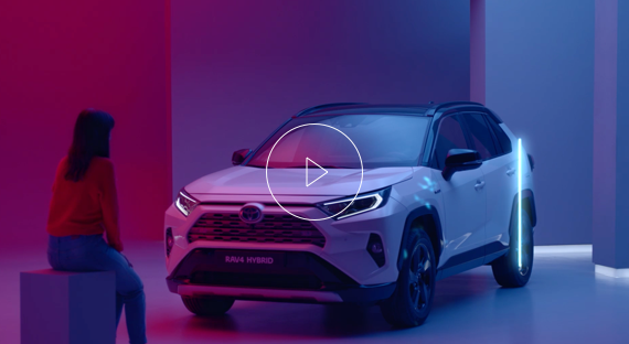 Rav4 Hybrid in multicolour