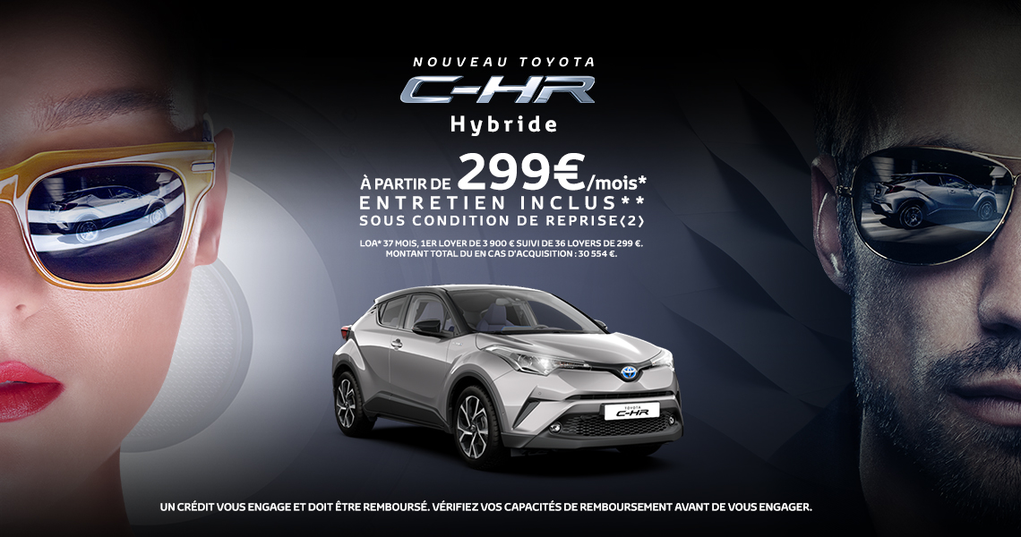 nouveau toyota c hr hybride