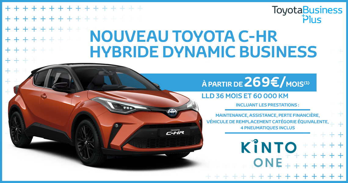 Nouveau Toyota C-HR Hybride Dynamic Business