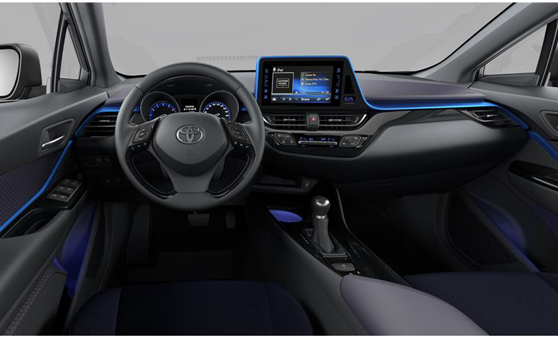 Toyota c hr offre du moment for Toyota chr interieur