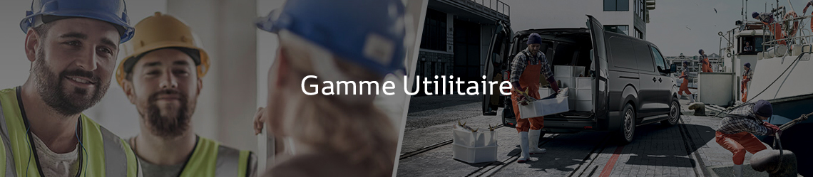 Gamme Utilitaire Toyota