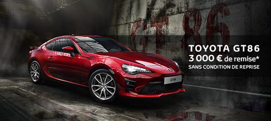 toyota gt86 prix et offres du moment. Black Bedroom Furniture Sets. Home Design Ideas