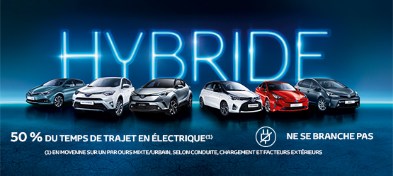 Gamme Hybride Toyota