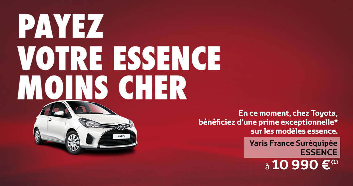 offre sp ciale toyota yaris la voiture made in france. Black Bedroom Furniture Sets. Home Design Ideas