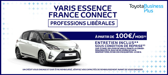 Toyota Yaris Essence France Professions Libérales