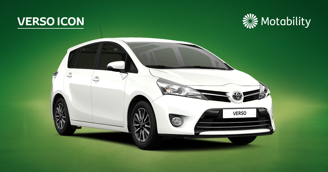 Verso Icon 1.6 Manual with £495 advance payment (Motability Users Only)