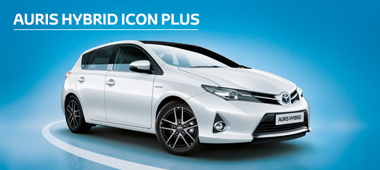Auris Hybrid Icon Plus from £191 + VAT per month† (Contract Hire)