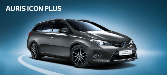 Auris Touring Sports Icon Plus from £160 + VAT per month† (Contract Hire)