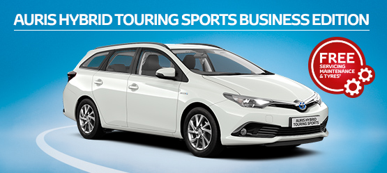 Auris Hybrid Touring Sports Business Edition from £215 + VAT per month† (Contract Hire)