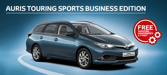 Auris Touring Sports Business Edition from £180 + VAT per month† (Contract Hire)
