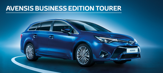Avensis Icon Business Edition Tourer  from £183 + VAT per month†  (Contract Hire)