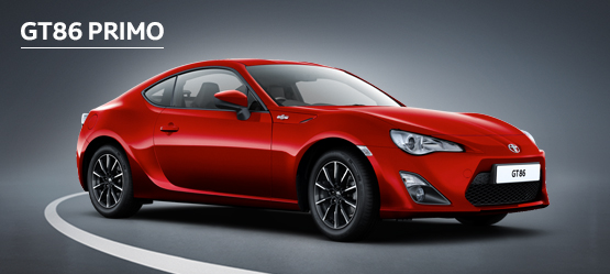 GT86 Primo from £287 + VAT per month† (Contract Hire)