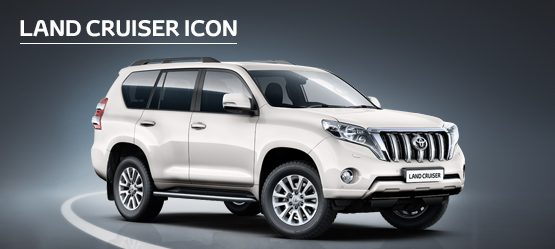 Land Cruiser Icon from £522 + VAT per month† (Contract Hire)