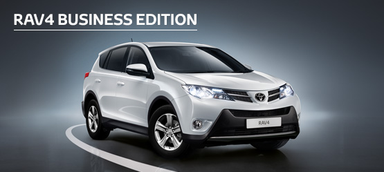 RAV4 Business Edition from £227 + VAT per month† (Contract Hire)